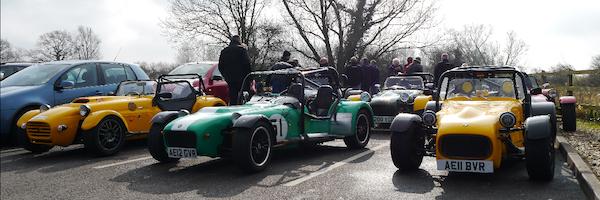 V8 Westfield, Jem Knight's Avon, Simon Noble's R6