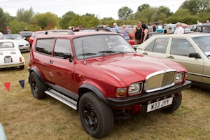 The only (I think) 4x4 Austin Allegro Vanden Plas